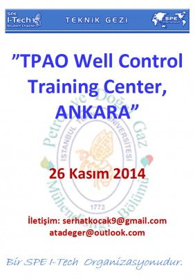 Teknik Gezi Afişi - TPAO Training Center