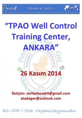Teknik Gezi Afişi - TPAO Training Center